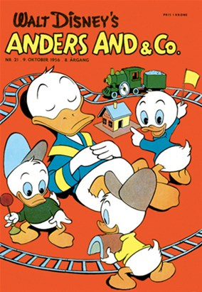 Anders And & Co. nr.  21 - 1956 (lille)
