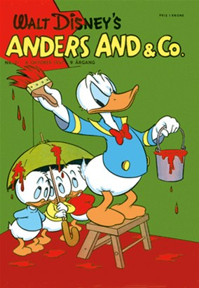 Anders And & Co. nr.  21 - 1957 (lille)