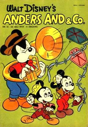Anders And & Co. nr.  21 - 1959 (lille)