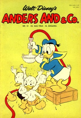 Anders And & Co. nr.  21 - 1964 (lille)