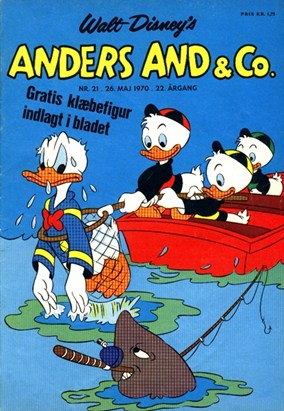 Anders And & Co. nr.  21 - 1970 (lille)