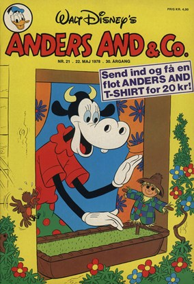 Anders And & Co. nr.  21 - 1978 (lille)