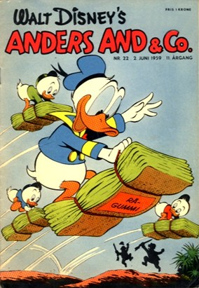 Anders And & Co. nr.  22 - 1959 (lille)