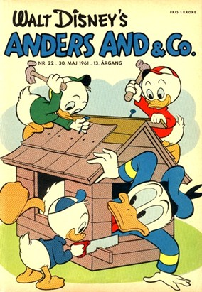Anders And & Co. nr.  22 - 1961 (lille)