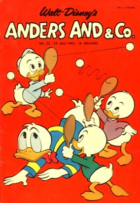 Anders And & Co. nr.  22 - 1962 (lille)
