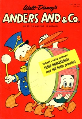 Anders And & Co. nr.  22 - 1963 (lille)