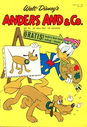 Anders And & Co. nr.  22 - 1967 (lille)