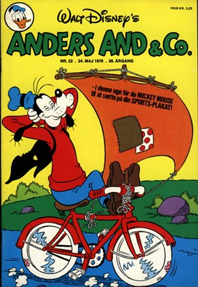Anders And & Co. nr.  22 - 1976 (lille)