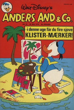 Anders And & Co. nr.  22 - 1978 (lille)
