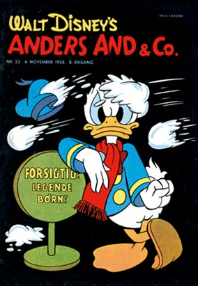 Anders And & Co. nr.  23 - 1956 (lille)