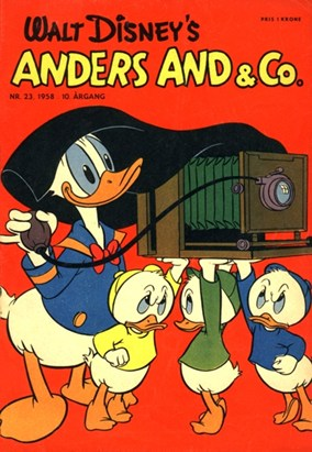 Anders And & Co. nr. 23 - 1958 (lille)