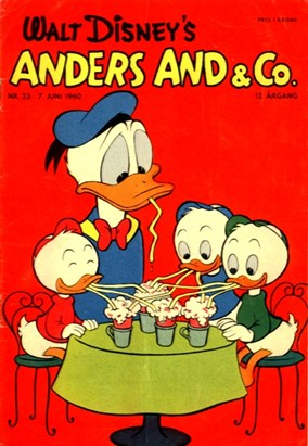 Anders And & Co. nr.  23 - 1960 (lille)