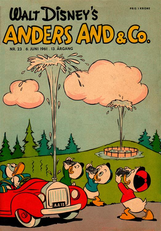 Anders And & Co. nr.  23 - 1961 (lille)