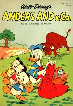 Anders And & Co. nr.  23 - 1963 (lille)