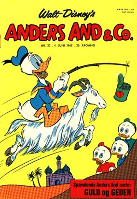 Anders And & Co. nr.  23 - 1968 (lille)