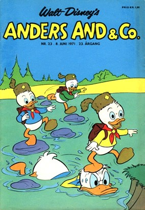 Anders And & Co. nr.  23 - 1971 (lille)