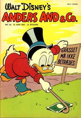 Anders And & Co. nr.  24 - 1961 (lille)