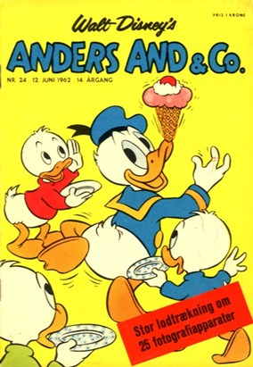 Anders And & Co. nr.  24 - 1962 (lille)