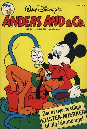 Anders And & Co. nr.  24 - 1978 (lille)