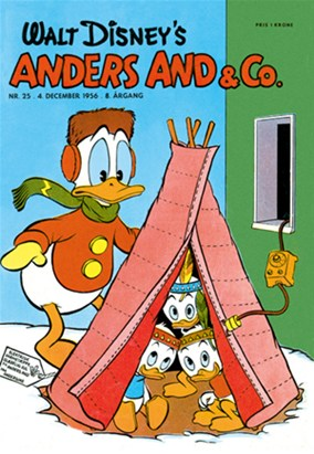 Anders And & Co. nr.  25 - 1956 (lille)