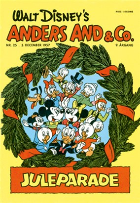 Anders And & Co. nr.  25 - 1957 (lille)