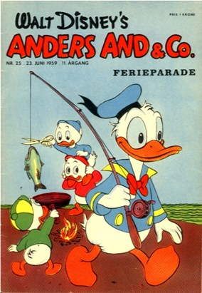 Anders And & Co. nr.  25 - 1959 (lille)