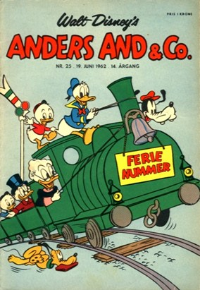 Anders And & Co. nr.  25 - 1962 (lille)