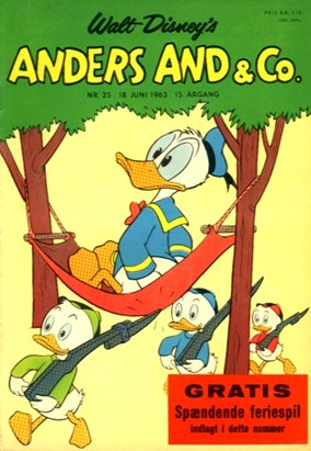 Anders And & Co. nr.  25 - 1963 (lille)