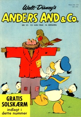 Anders And & Co. nr.  25 - 1964 (lille)