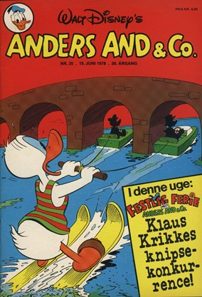 Anders And & Co. nr.  25 - 1978 (lille)
