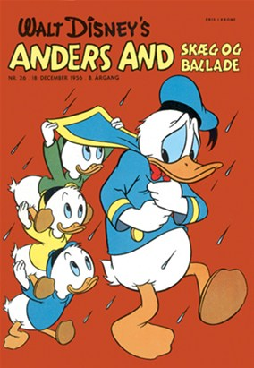 Anders And & Co. nr.  26 - 1956 (lille)
