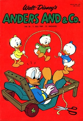Anders And & Co. nr.  26 - 1969 (lille)