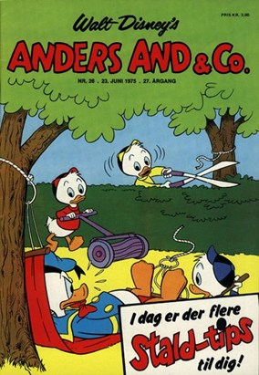 Anders And & Co. nr.  26 - 1975 (lille)