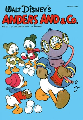Anders And & Co. nr.  27 - 1957 (lille)