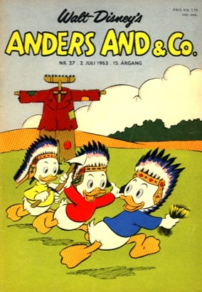 Anders And & Co. nr.  27 - 1963 (lille)