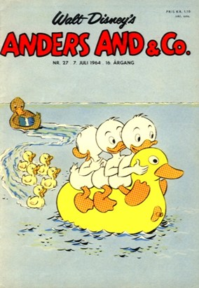 Anders And & Co. nr.  27 - 1964 (lille)