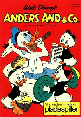 Anders And & Co. nr.  27 - 1968 (lille)