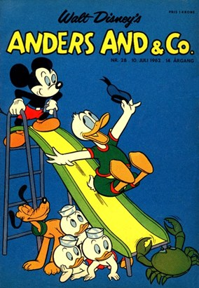 Anders And & Co. nr.  28 - 1962 (lille)