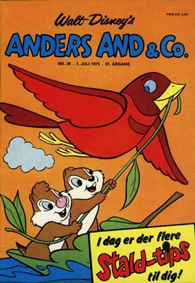 Anders And & Co. nr.  28 - 1975 (lille)