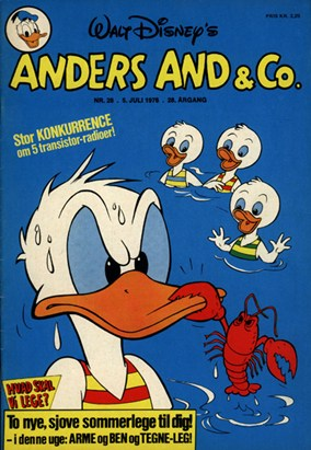 Anders And & Co. nr.  28 - 1976 (lille)