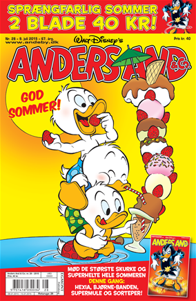 Anders And & Co. nr. 28 - 2015 (lille)