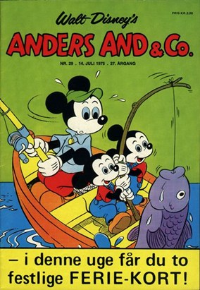 Anders And & Co. nr.  29 - 1975 (lille)