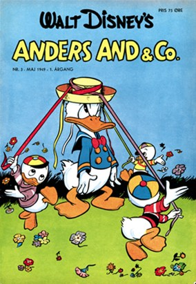 Anders And & Co. nr.  3 - 1949 (lille)