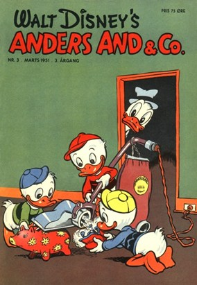 Anders And & Co. nr.  3 - 1951 (lille)
