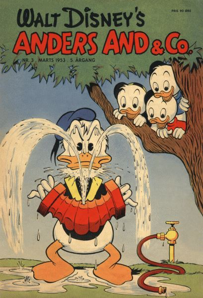 Anders And & Co. nr.  3 - 1953 (lille)