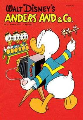 Anders And & Co. nr.  3 - 1955 (lille)