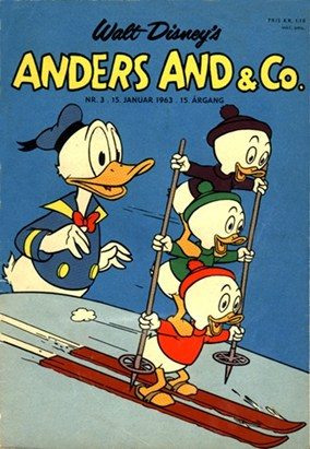 Anders And & Co. nr.  3 - 1963 (lille)