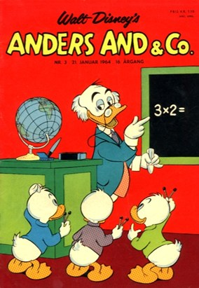 Anders And & Co. nr.  3 - 1964 (lille)