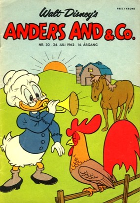 Anders And & Co. nr.  30 - 1962 (lille)
