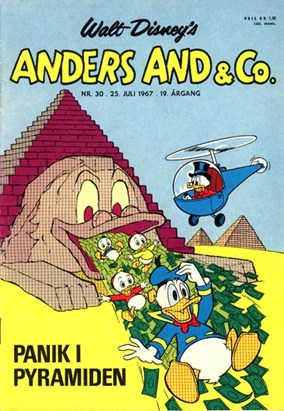 Anders And & Co. nr.  30 - 1967 (lille)